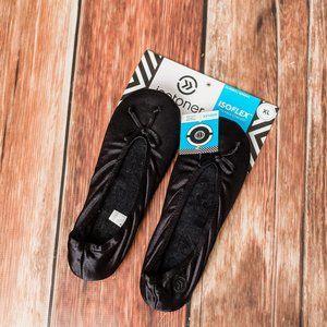 Isotoner Black Slippers - XL